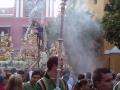 Sevilla - Procesión en la Plaza de San Martin