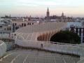 Sevilla - El Parasol sobre la Plaza de la Encarnación