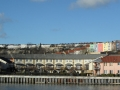 Bristol, panorama from harbourside walk