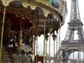 Paris - Blick zum Eiffelturm