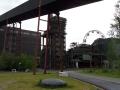 Essen –  Zeche Zollverein: Sonnenrad an der Kokerei