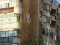 Bukarest - Wohnhausfassade