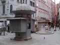 Venedig - Kiosk im Viertel Rialto oder San Marco
