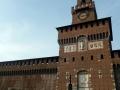 Mailand - Fassade Castello Sforzesco