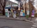Mailand - Tankstelle auf der Via Morgagni