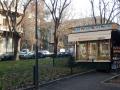 Mailand -  Kiosk auf dem Piazzale Lavater