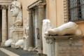 Rom - Innenhof des Musei Capitolini